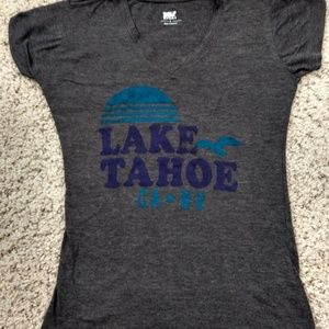 Lake Tahoe Graphic T-Shirt Size S
